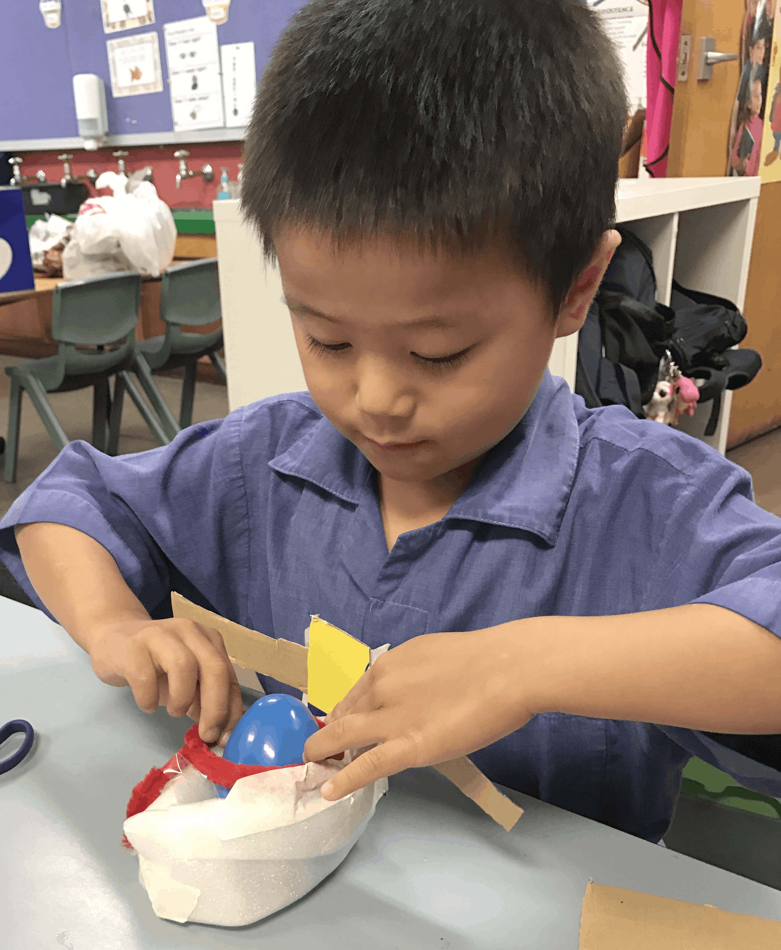 Kindergarten STEM learning